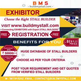 Good News For The Exhibition Industry - Exhibitors / Stall Builders