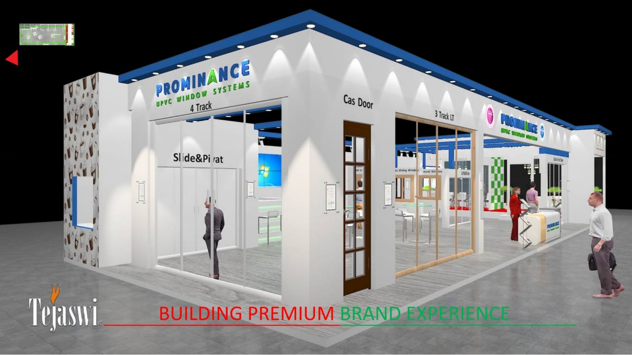 Zak Doors & Windows - Tejaswi Group creates Stall for Prominence