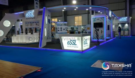 IFSEC India 2019 participant ESSL Security's stall built by TAKSHA EVENTS & EXHIBITIONS
