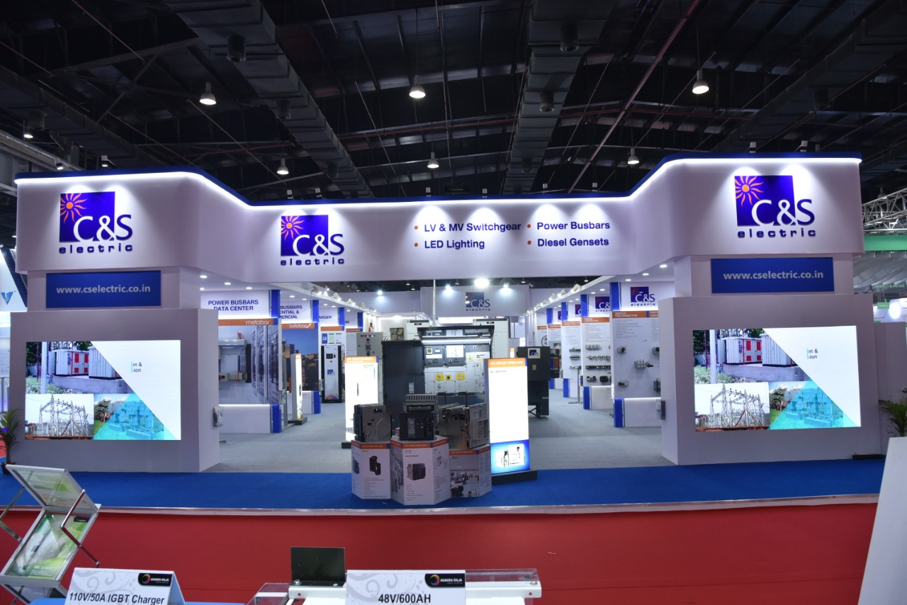 ELECRAMA 2020 - C&S ELECTRIC trusts Dream Shaperz for their Stall
