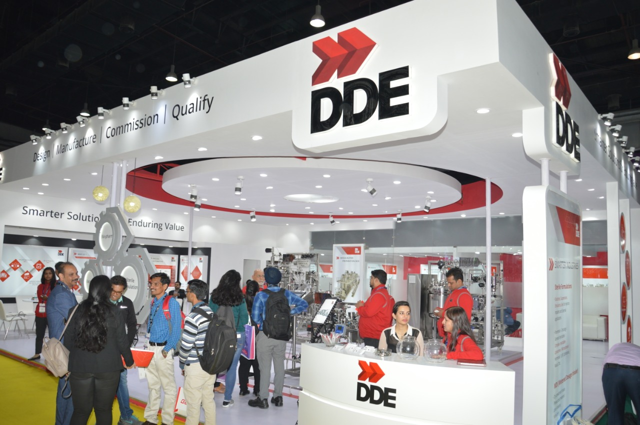 CPHI 2019 - DDE Stall designed by The Propshop